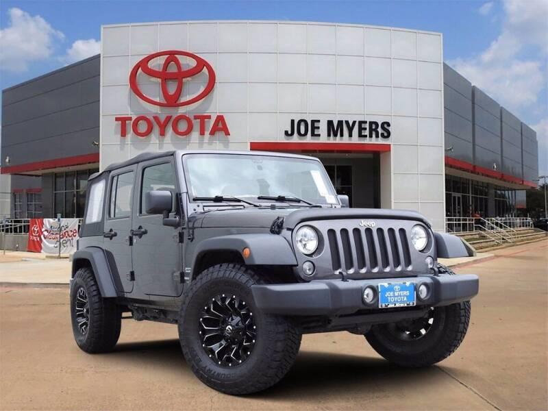 2018 Jeep Wrangler JK Unlimited for sale in Houston, TX