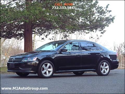 2012 Volkswagen Passat for sale at M2 Auto Group Llc. EAST BRUNSWICK in East Brunswick NJ