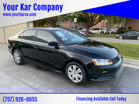 2017 Volkswagen Jetta for sale at Your Kar Company in Norfolk VA