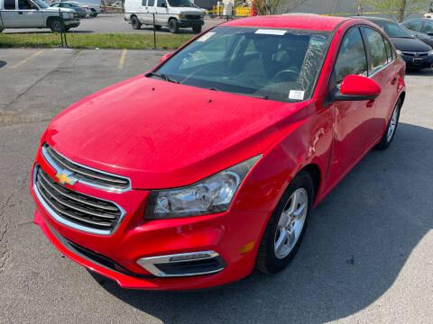 2015 Chevrolet Cruze for sale at Diana Rico LLC in Dalton GA