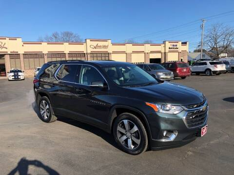 2020 Chevrolet Traverse for sale at ASSOCIATED SALES & LEASING in Marshfield WI