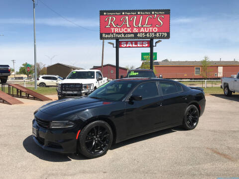 2018 Dodge Charger for sale at RAUL'S TRUCK & AUTO SALES, INC in Oklahoma City OK