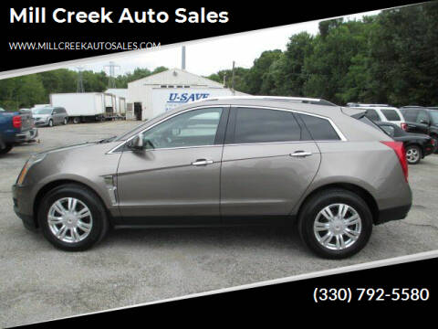 2012 Cadillac SRX for sale at Mill Creek Auto Sales in Youngstown OH