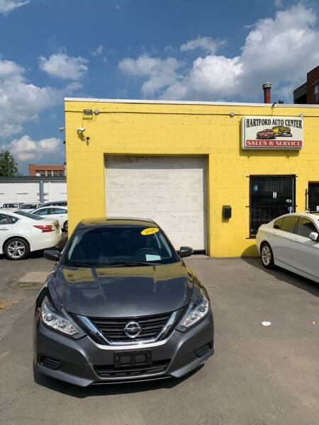 2016 Nissan Altima for sale at Hartford Auto Center in Hartford CT