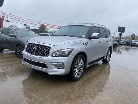 2015 Infiniti QX80 for sale at Direct Auto in D'Iberville MS