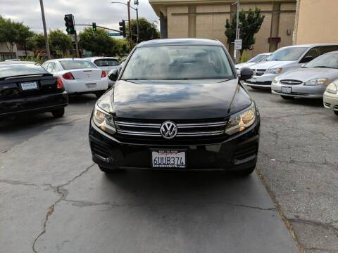 2012 Volkswagen Tiguan for sale at Auto City in Redwood City CA