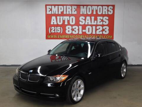 2008 BMW 3 Series for sale at EMPIRE MOTORS AUTO SALES in Philadelphia PA