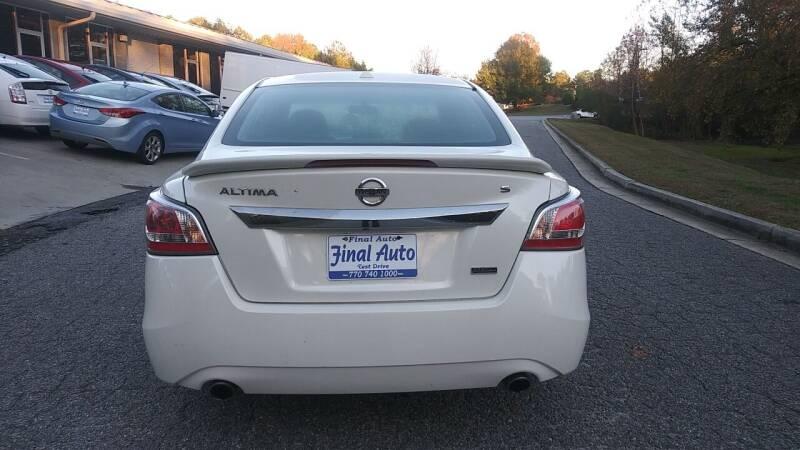 2015 Nissan Altima 2.5 S 4dr Sedan - Alpharetta GA