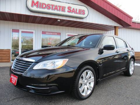 2011 Chrysler 200 for sale at Midstate Sales in Foley MN