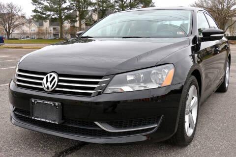 2013 Volkswagen Passat for sale at Prime Auto Sales LLC in Virginia Beach VA