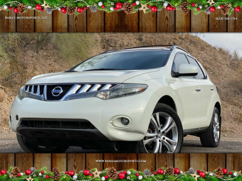 2009 Nissan Murano for sale at Baba's Motorsports, LLC in Phoenix AZ