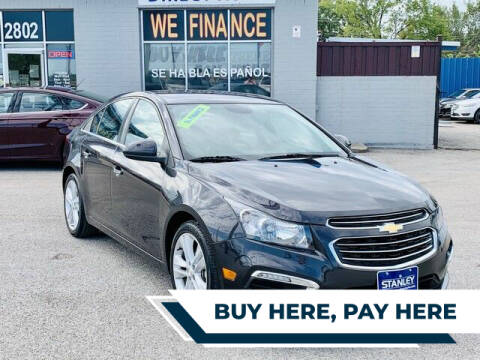 2016 Chevrolet Cruze Limited for sale at Stanley Direct Auto in Mesquite TX