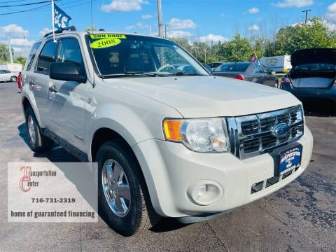 2008 Ford Escape for sale at Transportation Center Of Western New York in Niagara Falls NY