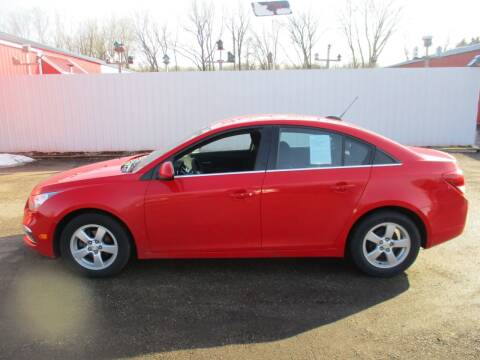 2016 Chevrolet Cruze Limited for sale at Chaddock Auto Sales in Rochester MN