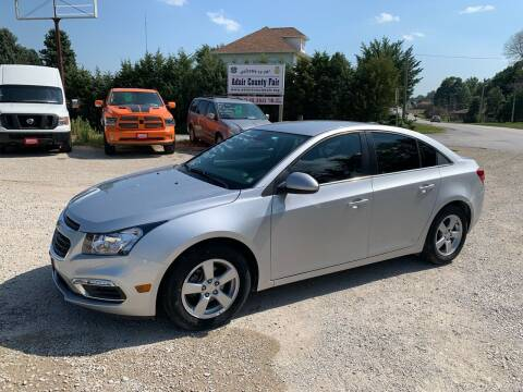 2016 Chevrolet Cruze Limited for sale at GREENFIELD AUTO SALES in Greenfield IA