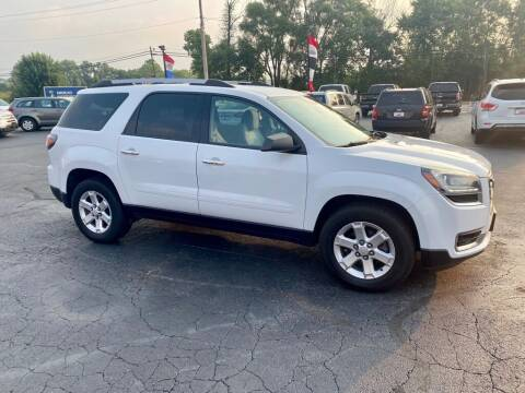 2016 GMC Acadia for sale at Used Car Factory Sales & Service Troy in Troy OH