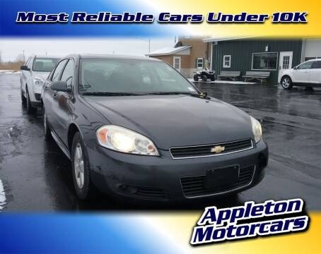2010 Chevrolet Impala for sale at Appleton Motorcars Sales & Service in Appleton WI