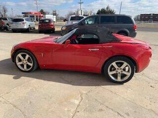 2006 Pontiac Solstice for sale at J & S Auto in Downs KS