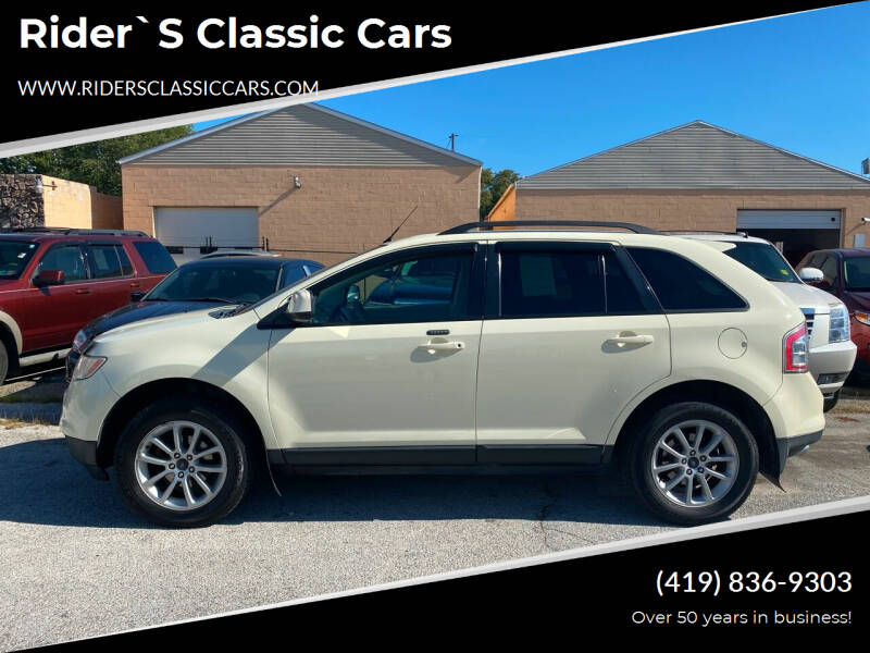 2007 Ford Edge for sale at Rider`s Classic Cars in Millbury OH