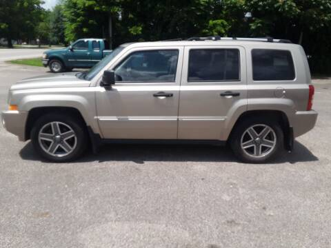 2009 Jeep Patriot for sale at Riverview Auto's, LLC in Manchester OH