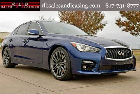 2016 Infiniti Q50 for sale at RLB Sales and Leasing in Fort Worth TX