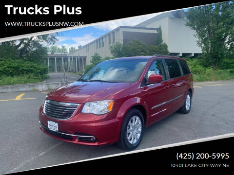 2014 Chrysler Town and Country for sale at Trucks Plus in Seattle WA