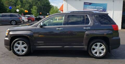 2016 GMC Terrain for sale at Healey Auto in Rochester NH