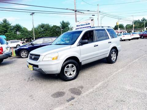 2005 Honda Pilot for sale at New Wave Auto of Vineland in Vineland NJ