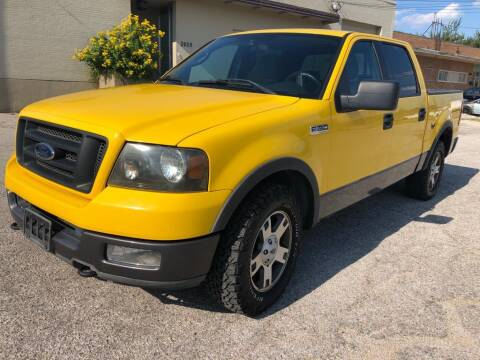 2004 Ford F-150 for sale at Dynasty Auto in Dallas TX
