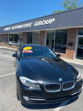 2013 BMW 5 Series for sale at Jones Automotive Group in Jacksonville NC
