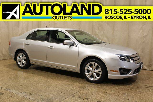 2012 Ford Fusion for sale at AutoLand Outlets Inc in Roscoe IL