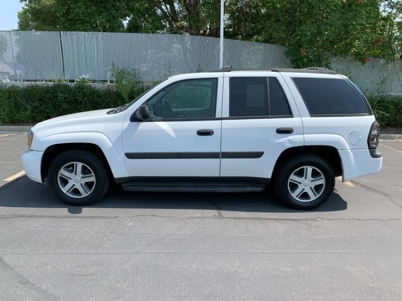 2005 Chevrolet TrailBlazer for sale at BITTON'S AUTO SALES in Ogden UT