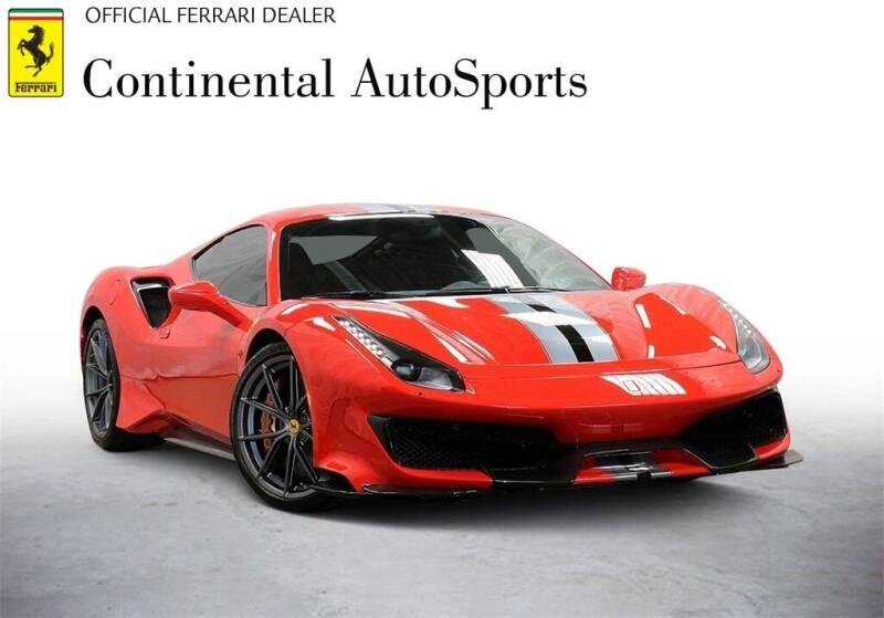 2020 Ferrari 488 Pista for sale at CONTINENTAL AUTO SPORTS in Hinsdale IL