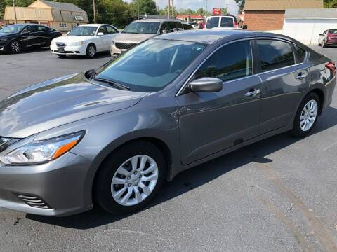 2018 Nissan Altima for sale at Teds Auto Inc in Marshall MO