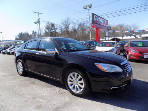 2014 Chrysler 200 for sale at Comet Auto Sales in Manchester NH