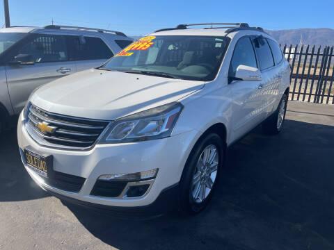 2015 Chevrolet Traverse for sale at Soledad Auto Sales in Soledad CA