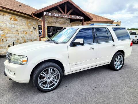 2007 Lincoln Navigator for sale at Performance Motors Killeen Second Chance in Killeen TX