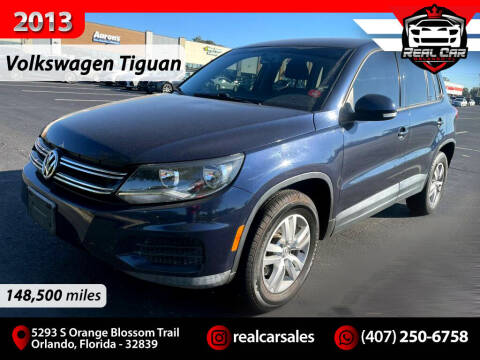 2013 Volkswagen Tiguan for sale at Real Car Sales in Orlando FL