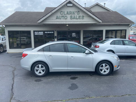 2011 Chevrolet Cruze for sale at Clarks Auto Sales in Middletown OH