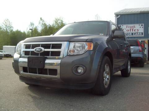 2012 Ford Escape for sale at Frank Coffey in Milford NH