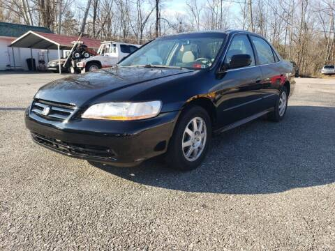 2002 Honda Accord for sale at Ona Used Auto Sales in Ona WV