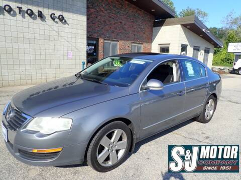 2008 Volkswagen Passat for sale at S & J Motor Co Inc. in Merrimack NH