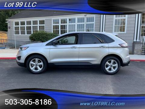 2016 Ford Edge for sale at LOT 99 LLC in Milwaukie OR