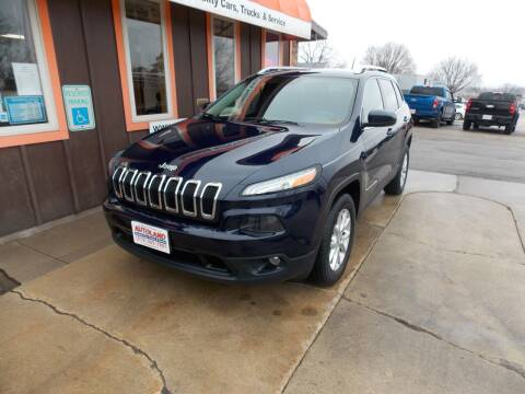2015 Jeep Cherokee for sale at Autoland in Cedar Rapids IA