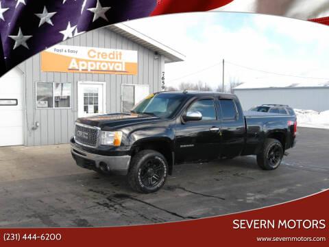 2011 GMC Sierra 1500 for sale at Severn Motors in Cadillac MI