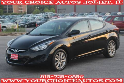 2015 Hyundai Elantra for sale at Your Choice Autos - Joliet in Joliet IL