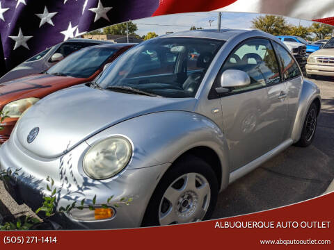 2000 Volkswagen New Beetle for sale at ALBUQUERQUE AUTO OUTLET in Albuquerque NM