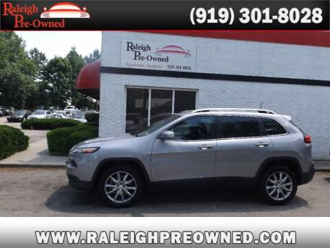 2018 Jeep Cherokee for sale at Raleigh Pre-Owned in Raleigh NC