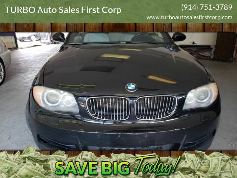 2008 BMW 1 Series for sale at TURBO Auto Sales First Corp in Yonkers NY