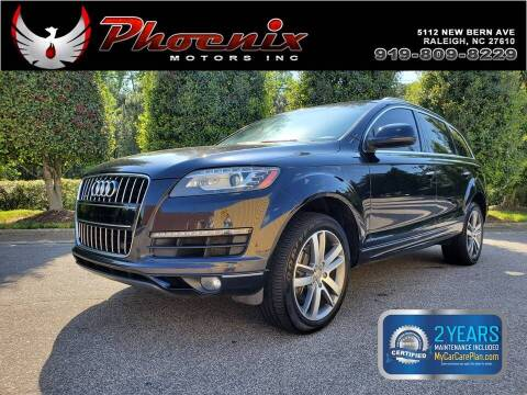 2012 Audi Q7 for sale at Phoenix Motors Inc in Raleigh NC